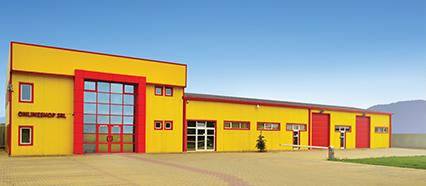 ONLINESHOP SRL warehouse